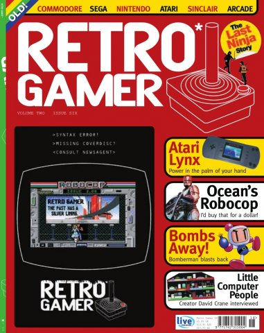 Retro Gamer Issue 018 (October 2005)