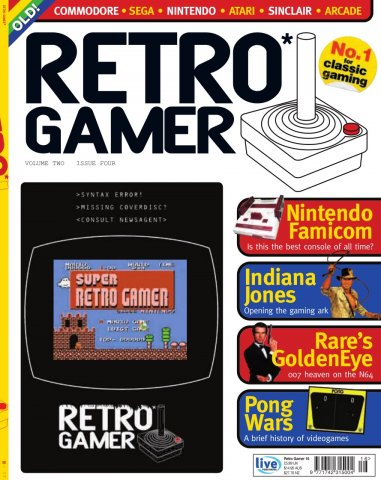 Retro Gamer Issue 016 (August 2005)