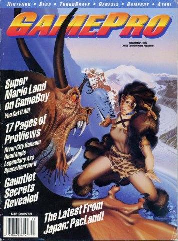 GamePro Issue 004 November 1989