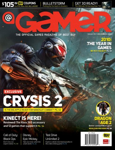 @Gamer Issue 005 (December 2010)