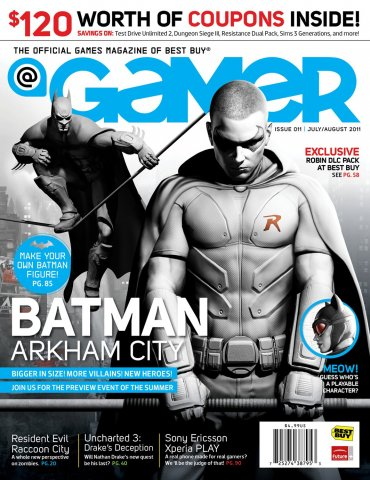 @Gamer Issue 011 (July August 2011)