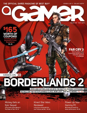 @Gamer Issue 019 (May 2012)