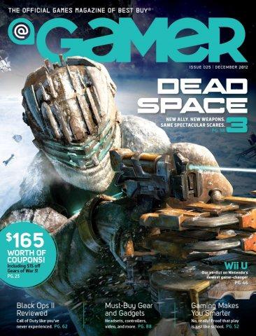 @Gamer Issue 025 (December 2012)