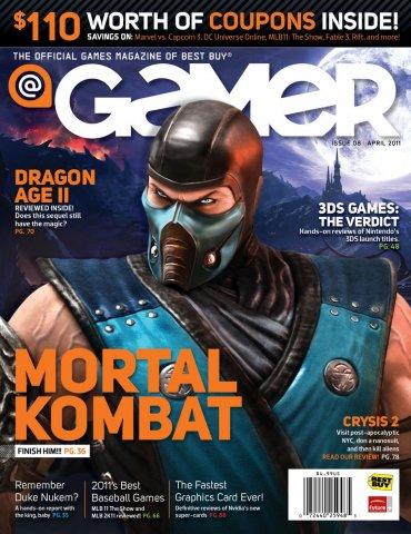 @Gamer Issue 008 (April 2011)