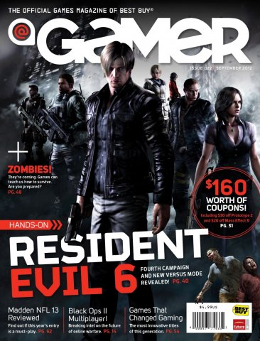 @Gamer Issue 022 (September 2012)