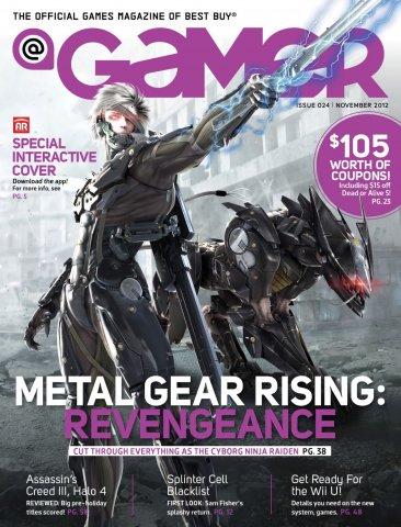 @Gamer Issue 024 (November 2012)