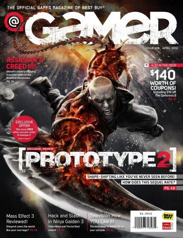 @Gamer Issue 018 (April 2012)