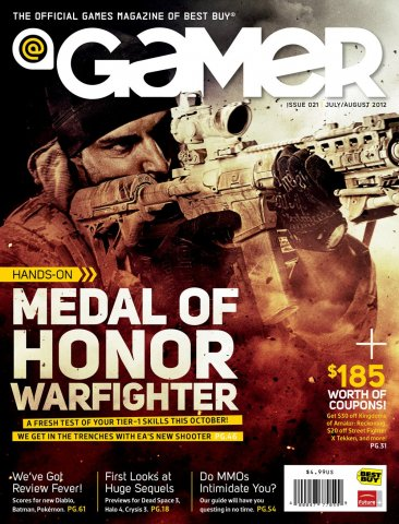 @Gamer Issue 021 (July August 2012)