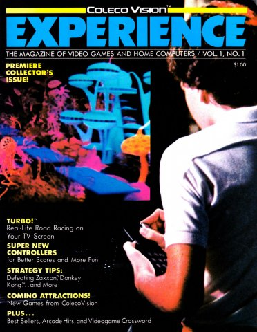 Colecovision Experience Issue 001 Spring 1983