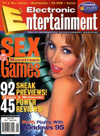 Electronic Entertainment Vol.2 No.08 (August 1995)