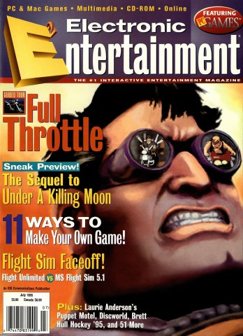 Electronic Entertainment Vol.2 No.07 (July 1995)