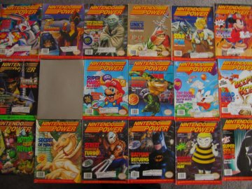 Nintendo Power Lot Picture 11