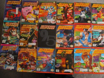Nintendo Power Lot Picture 1