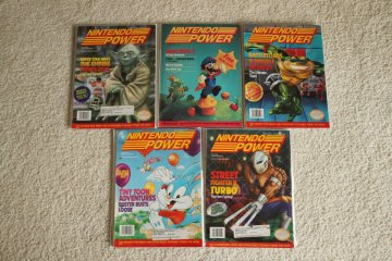 Nintendo Power Prizes