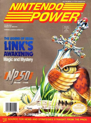 Nintendo Power Issue 050 (July 1993)