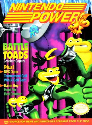 Nintendo Power Issue 025 (June 1991)