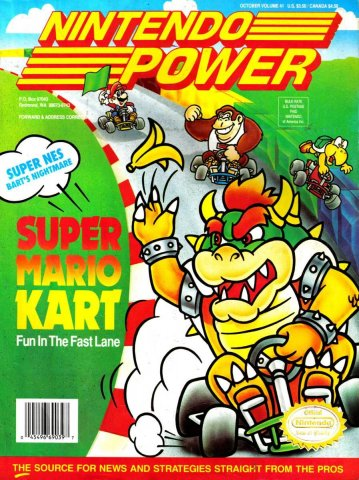 Nintendo Power Issue 041 (October 1992)