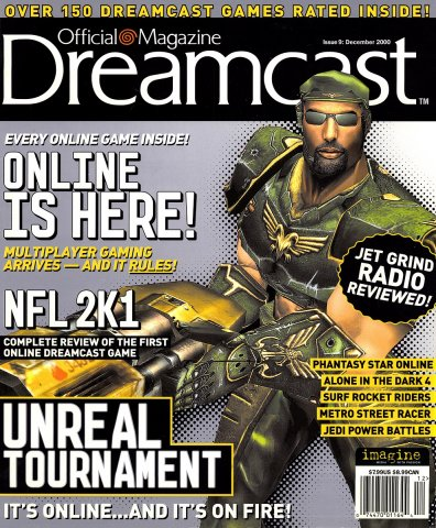 Official Sega Dreamcast Magazine Issue 009 (December 2000)