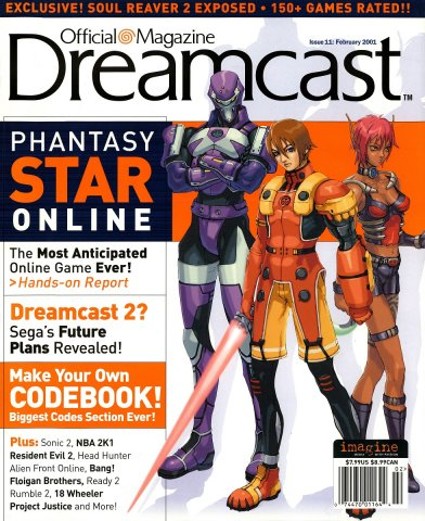 Official Sega Dreamcast Magazine Issue 011 (February 2001)