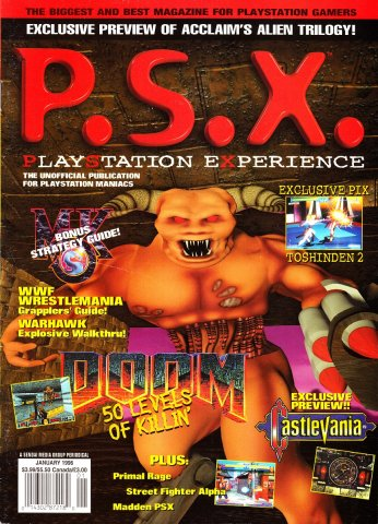 PSX Issue 02 (January 1996)