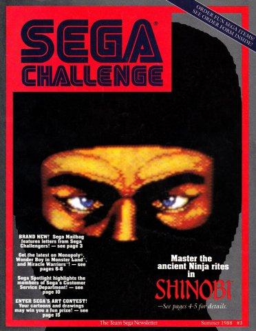 Sega Challenge Issue 003 (Summer 1988)