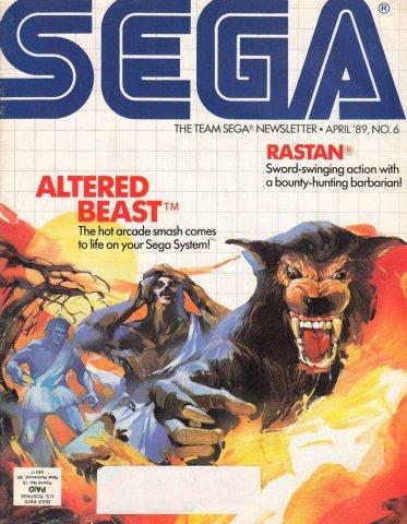 Team Sega Newsletter Issue 6