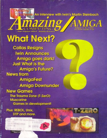 Amazing Computing Issue 158 Vol. 14 No. 9 (September 1999) - Final Issue