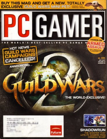 PC Gamer Issue 161 May 2007