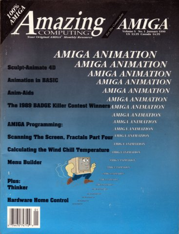 Amazing Computing Issue 046 Vol. 05 No. 01 (January 1990)