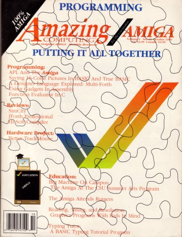 Amazing Computing Issue 043 Vol. 04 No. 10 (October 1989)