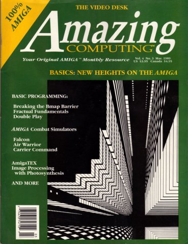 Amazing Computing Issue 036 Vol. 04 No. 03 (March 1989)