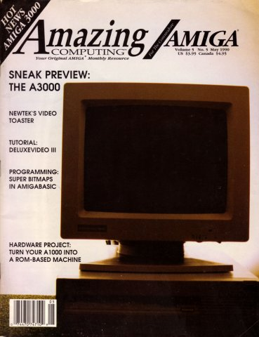Amazing Computing Issue 050 Vol. 05 No. 05 (May 1990)