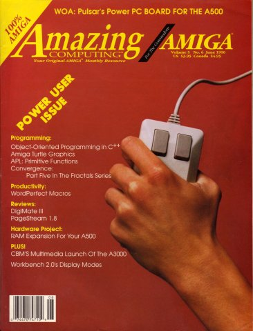Amazing Computing Issue 051 Vol. 05 No. 06 (June 1990)