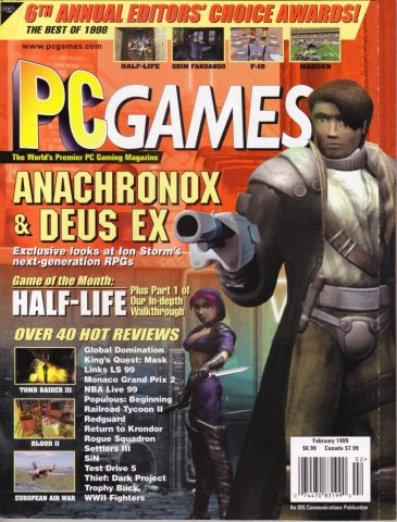 PC Games Vol. 06 No. 02 (February 1999)