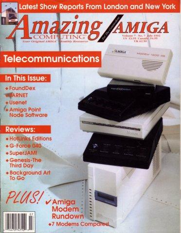 Amazing Computing Issue 076 Vol. 07 No. 07 (July 1992)