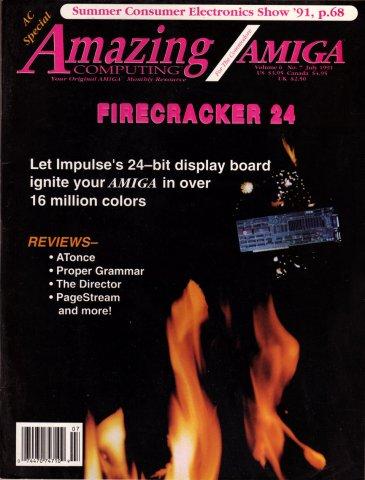 Amazing Computing Issue 064 Vol 06 No. 07 (July 1991)