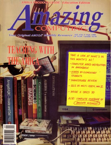 Amazing Computing Issue 030 Vol. 03 No. 09 (September 1988)