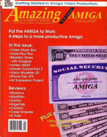 Amazing Computing Issue 085 Vol. 08 No. 04 (April, 1993)