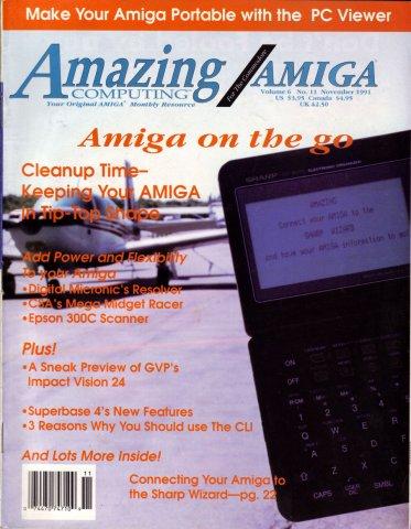 Amazing Computing Issue 068 Vol. 06 No. 11 (November 1991)