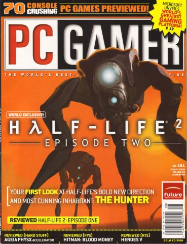 PC Gamer Issue 151 August 2006