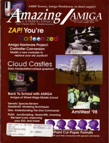 Amazing Computing Issue 147 Vol. 13 No. 09 (September 1998)