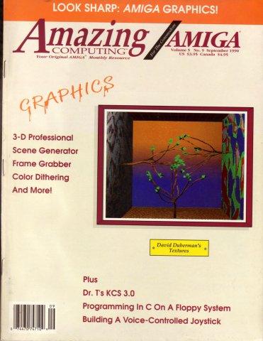 Amazing Computing Issue 054 Vol. 05 No. 09 (September 1990)