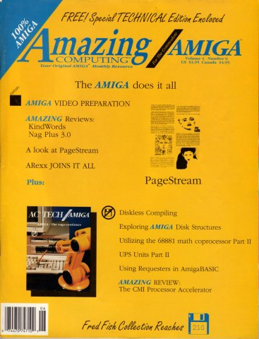 Amazing Computing Issue 039 Vol. 04 No. 06 (June 1989)