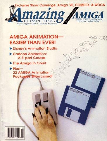 Amazing Computing Issue 058 Vol. 06 No. 01 (January 1991)