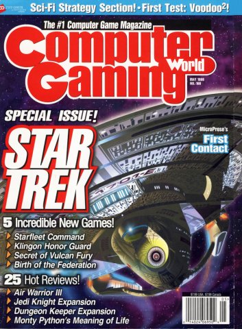 Computer Gaming World Issue 166 May 1998
