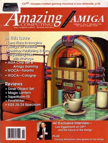 Amazing Computing Issue 095 Vol. 09 No. 02 (February 1994)