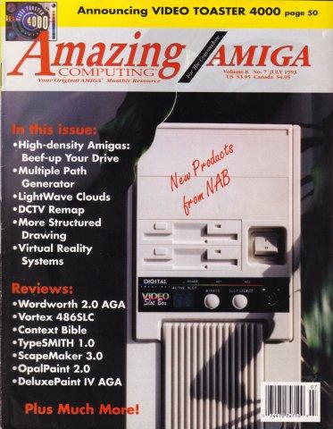 Amazing Computing Issue 088 Vol. 08 No. 07 (July 1993)