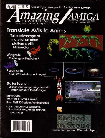 Amazing Computing Issue 148 Vol. 13 No. 10 (October 1998)