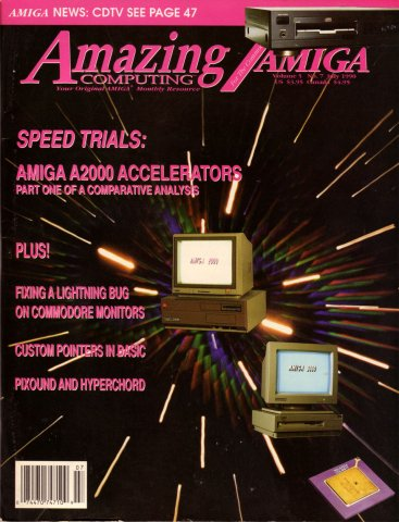 Amazing Computing Issue 052 Vol. 05 No. 07 (July 1990)