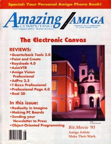 Amazing Computing Issue 089 Vol. 08 No. 08 (August 1993)